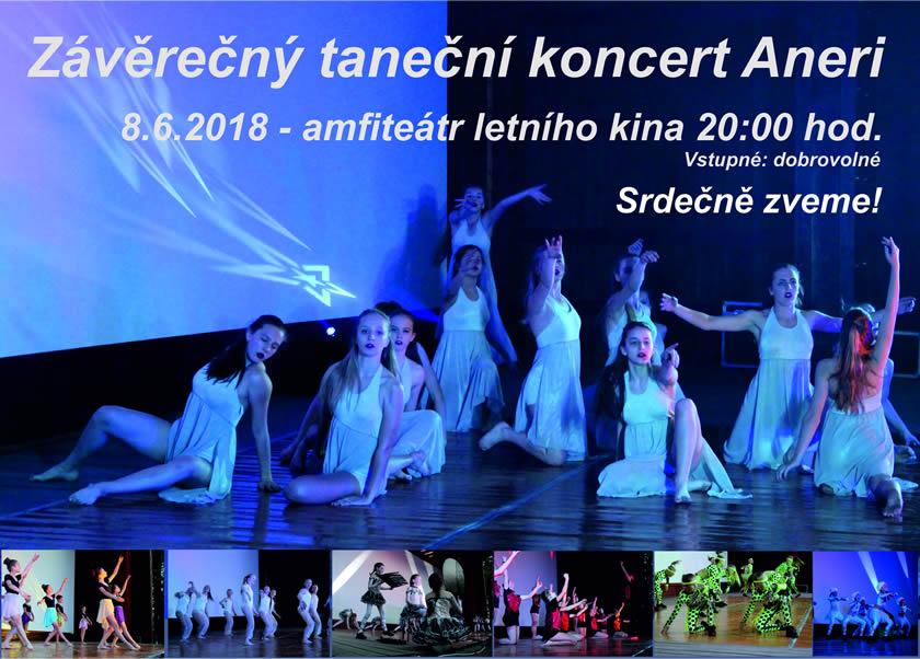 Závěrečný koncert Aneri 2017/2018